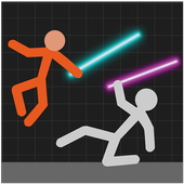 Stickman Warriors - Lightsaber War icon