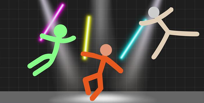Stickman Warriors - Lightsaber War screenshot 2
