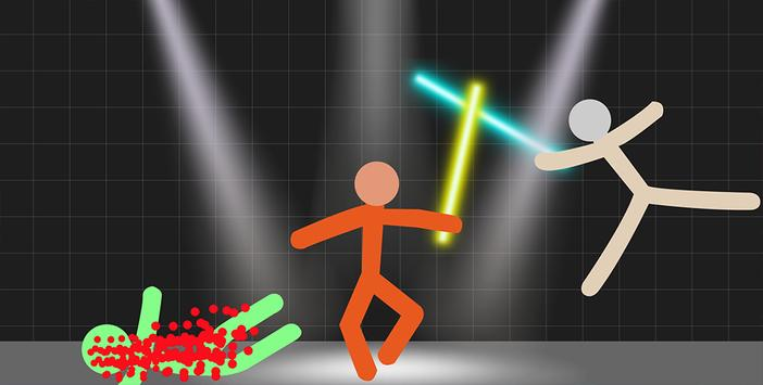 Stickman Warriors - Lightsaber War screenshot 3