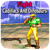 Cadillacs and Dinosaurs mustapha game icon