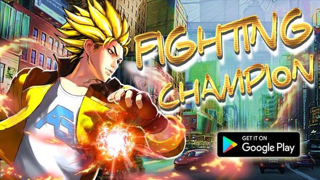 Fighting Champion:City Fighter poster