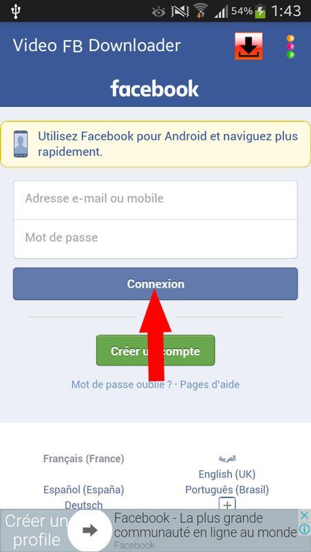 download facebook apk for pc windows 7