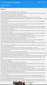 Bible : King James Bible screenshot 4