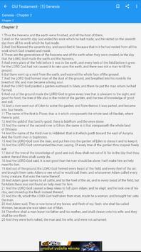 Bible : King James Bible screenshot 5
