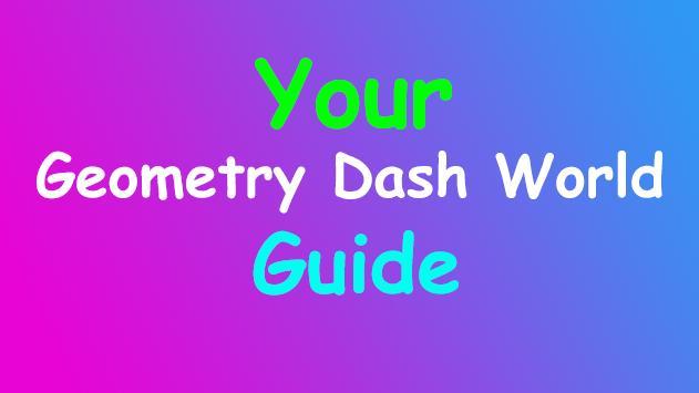 Guide For Geometry Dash World screenshot 3