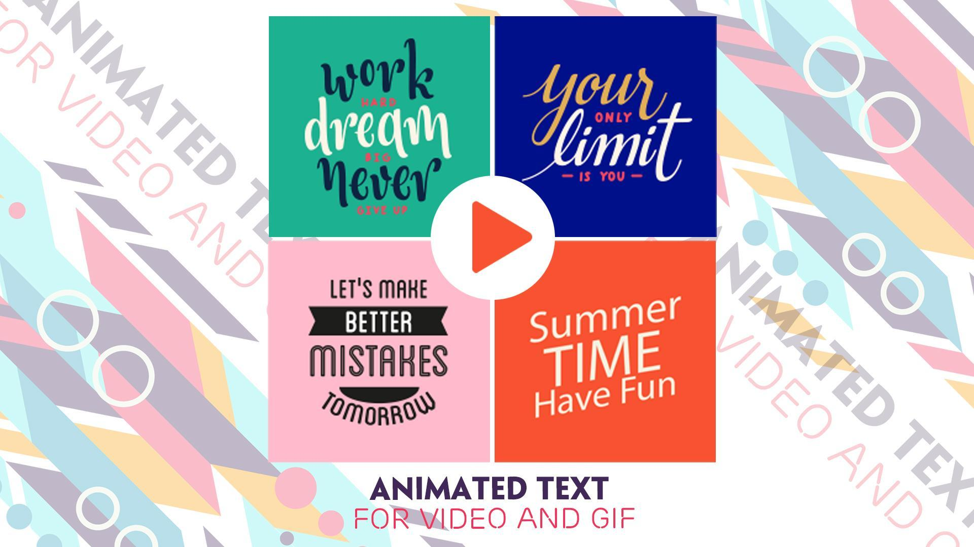 Text Animation Maker for Android - APK Download