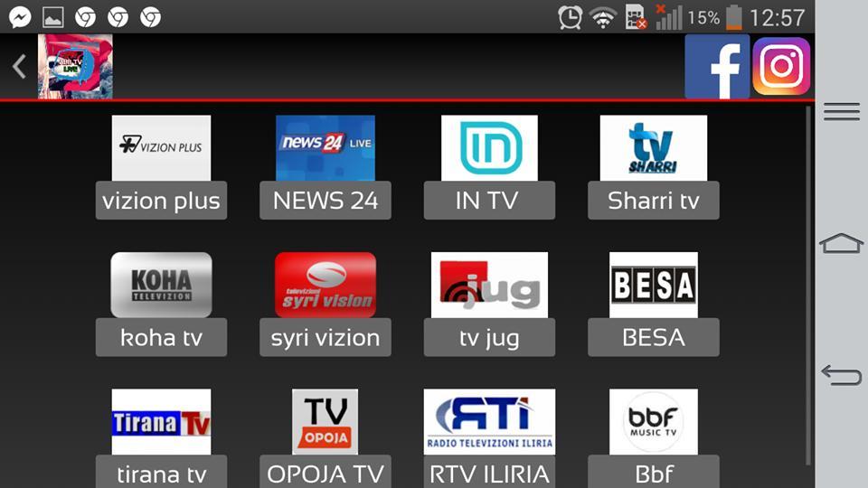 Alb Tv Live 2 - SHIKO SHQIP TV cho Android - Tải về APK