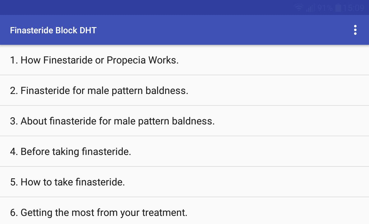 Finasteride DHT Blocker for Android - APK Download