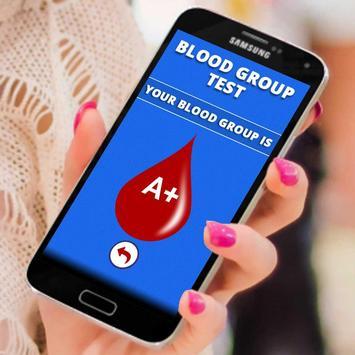 Finger Blood Group Scan Prank poster