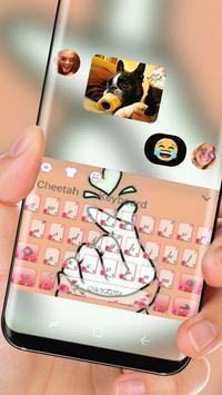 finger love Keyboard theme screenshot 2