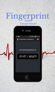 Finger Body Temperature  PRANK apk screenshot