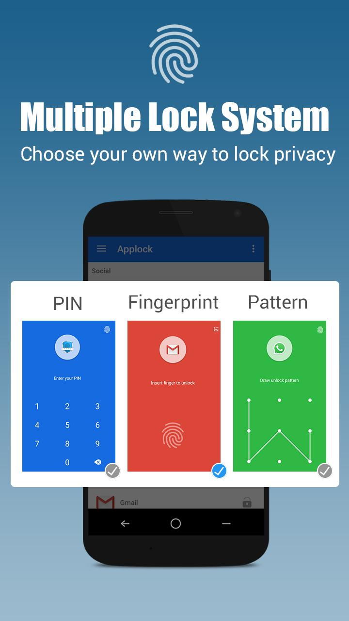 App lock - Real Fingerprint, Pattern & Password for Android
