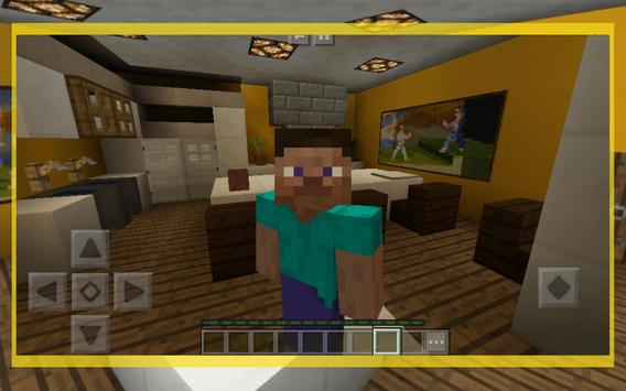 Find The Button - Map for MCPE. Rooms Edition screenshot 2