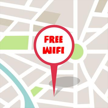 Find Free WiFi Hotspot poster