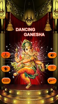 Dancing Ganesha - Bal Ganesha Dancing on Screen poster