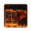 Fire Wolf Theme icon