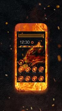 Fire Wolf Theme screenshot 4