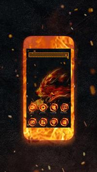 Fire Wolf Theme screenshot 1