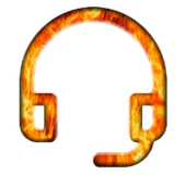 Fire™ Audio Player icon