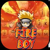 Fire Ninja Boy icon