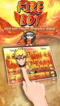Fire Ninja Boy poster