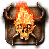 Fire Skull Wallpaper icon