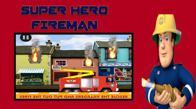 Fireman Super Hero Sam poster