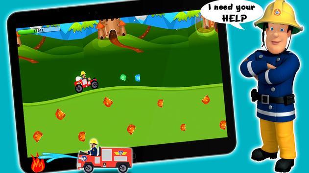 Super Fireman ™ : Firetruck Sam Mission Game Free screenshot 6