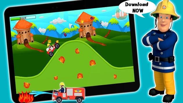 Super Fireman ™ : Firetruck Sam Mission Game Free screenshot 9