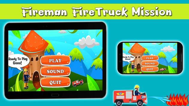 Super Fireman ™ : Firetruck Sam Mission Game Free screenshot 3