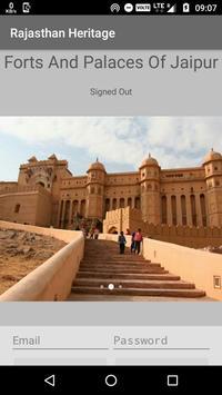 Rajasthan Heritage poster
