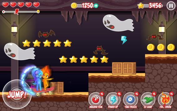Fireboy Skate Watergirl Go apk screenshot