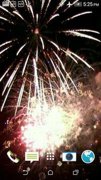 Firework 3D Video Wallpaper apk screenshot
