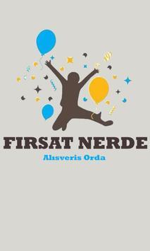 FIRSAT NERDE poster