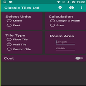 Classic Tiles Limited Product Calculator icon