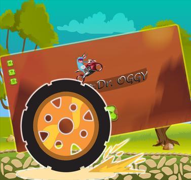 Motorcycle Driver Oggy apk screenshot
