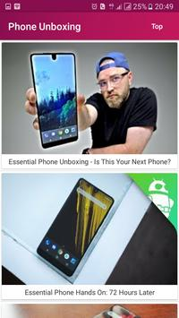 Phone Unboxing and First Look apk screenshot