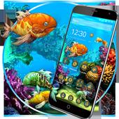 3D HD Cool Fish Theme icon