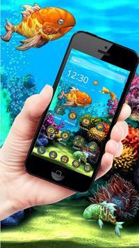3D HD Cool Fish Theme screenshot 6