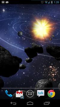 Asteroid Belt Free L Wallpaper poster