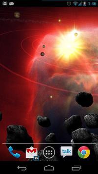 Asteroid Belt Free L Wallpaper apk screenshot