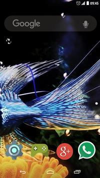 3D Fish Live Wallpaper screenshot 1
