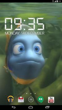 3D Blue Fish Live Wallpap apk screenshot