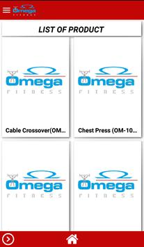 Omega Fitness apk screenshot