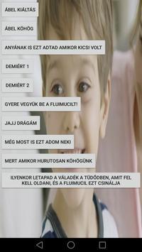 Fluimucil Ábel hangok poster