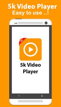 5k video player poster