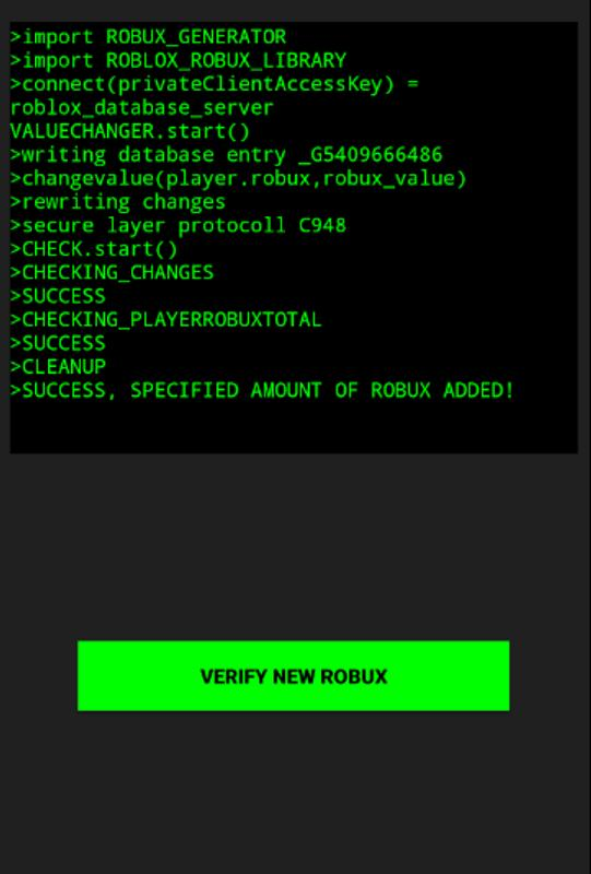 Robux Hack for Roblox - Prank for Android - APK Download