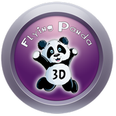Flying Panada 3D icon