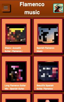 Flamenco music poster