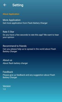 Flash Battery Charger screenshot 5